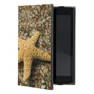 米国、HI、カウアイ島の星の魚が付いているガラスビーチ iPad MINI ケース
