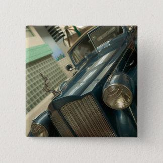 米国、Nevada_Reno: 国民の自動車博物館 5.1cm 正方形バッジ
