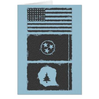 米国、TNのウォーレン郡のメッセージカード カード
