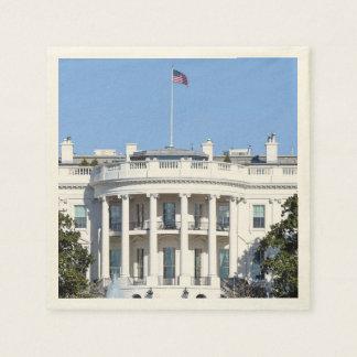 米国- Washington D.C.のホワイトハウス スタンダードカクテルナプキン
