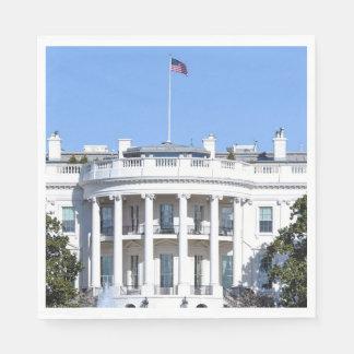 米国- Washington D.C.のホワイトハウス スタンダードランチョンナプキン