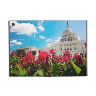 米国、Washington D.C.の国会議事堂の建物 iPad Mini ケース