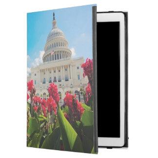 """米国、Washington D.C.の国会議事堂の建物 iPad Pro 12.9"""" ケース"""