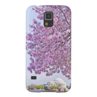 米国、Washington D.C.の開花の桜 Galaxy S5 ケース