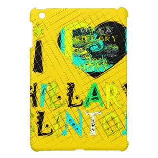 米国Coのためのおもしろいな金loveyのすばらしい希望ヒラリー iPad Miniケース