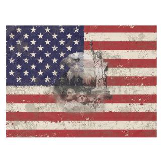 米国ID155の旗そして記号 テーブルクロス