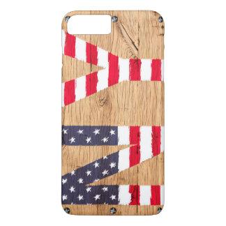 米国NYの旗のAppleのiPhone Samsungは裏表紙を包装します iPhone 8 Plus/7 Plusケース
