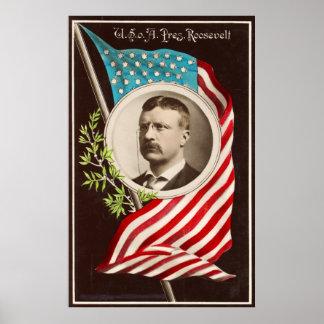 米国o [f] A.、Pres。 ルーズベルト[1907年] ポスター