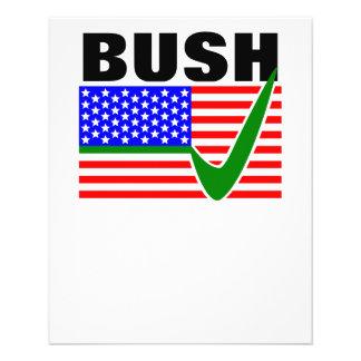 米国Presidnetのためのジェブ・ブッシュ チラシ