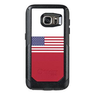 米国Samsungのオッターボックスの例の旗 オッターボックスSamsung Galaxy S7ケース