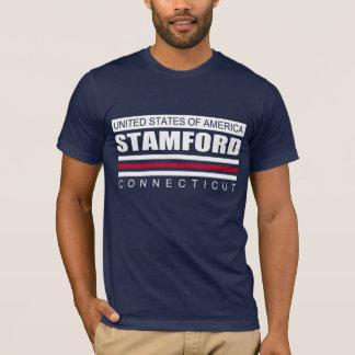 米国STAMFORDコネチカットのティー Tシャツ