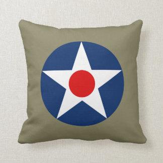 米陸軍の航空業務-米陸軍の空軍Roundel P クッション