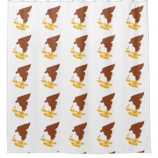 米領サモアの州のデザイン- .PNG シャワーカーテン