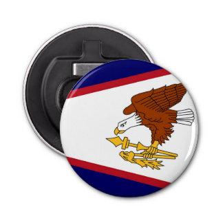 米領サモアの旗が付いている愛国心が強い栓抜き 栓抜き