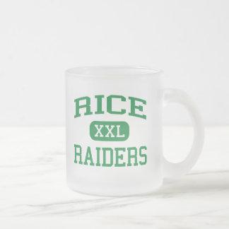 米-侵入者-高等学校-ニューヨークニューヨーク フロストグラスマグカップ