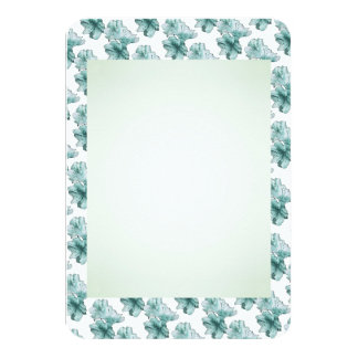 粉および水の図解入りの、写真付きのな花はセットをカスタマイズ カード