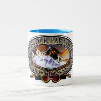粉の楽園のマグ ツートーンマグカップ