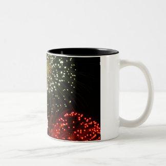 粉の空 ツートーンマグカップ