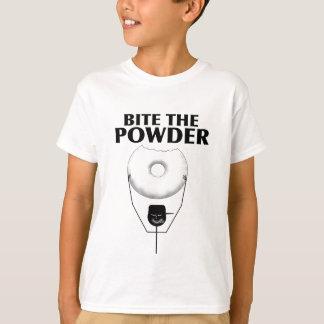 粉をかんで下さい Tシャツ