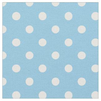 粉及び白の点 の生地 ファブリック