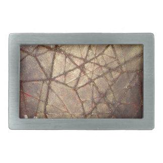 粉砕されたガラスおよび日光 長方形ベルトバックル