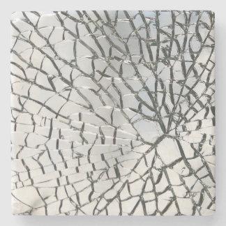 粉砕されたガラス質 ストーンコースター