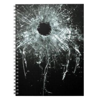 粉砕される ノートブック