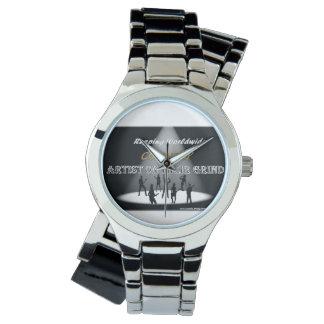 粉砕のラップアラウンドの腕時計の国の芸術家 ウオッチ