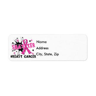 粉砕の乳癌 ラベル