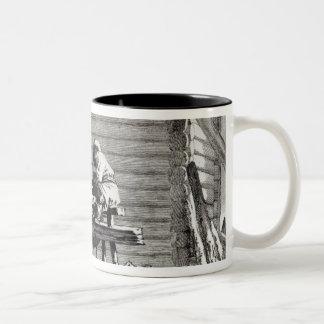 粉砕機 ツートーンマグカップ