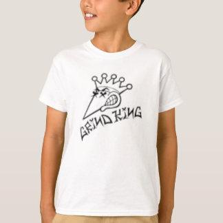 粉砕王のロゴ Tシャツ