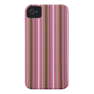 粋でストライプのな場合 Case-Mate iPhone 4 ケース