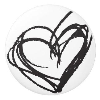 粋で及びエレガントな白い陶磁器のノブ- セラミックノブ