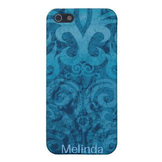粋で青いiPhone 5の箱 iPhone 5 Case