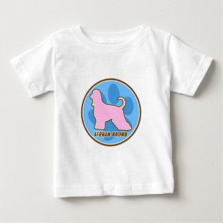 粋なアフガンハウンドのベビーのTシャツ ベビーTシャツ