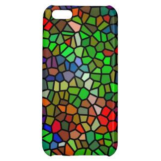 粋なカラフルのステンドグラス iPhone 5C CASE