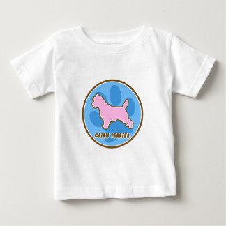 粋なケアーン・テリアのベビー ベビーTシャツ