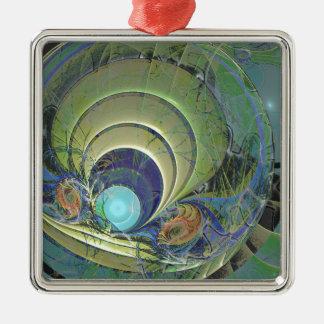 粋なゴブレットのデザイン004 メタルオーナメント