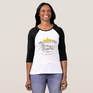 粋なサファイア: 役人17-18のロゴ Tシャツ