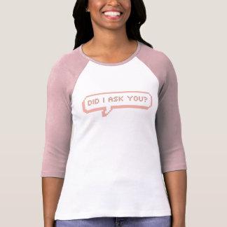 粋なスピーチの泡 Tシャツ