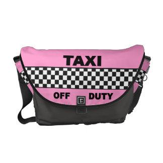 粋なタクシーのバッグ メッセンジャーバッグ