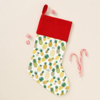 粋なパイナップルパターン2 クリスマスストッキング