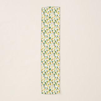 粋なパイナップルパターン スカーフ