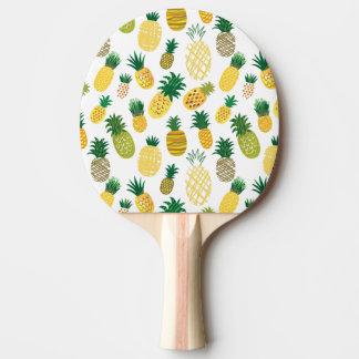 粋なパイナップルパターン 卓球ラケット