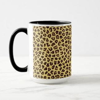 粋なヒョウのチータのプリント マグカップ