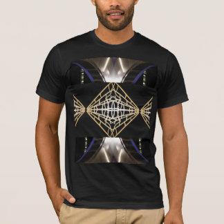 粋なロボティックサイボーグのサイエンスフィクションの人のファッション Tシャツ