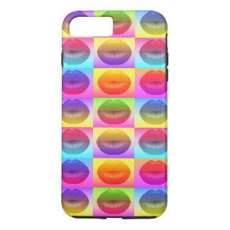 粋な唇のポップアートのiPhone 7のプラスの場合 iPhone 8 Plus/7 Plusケース