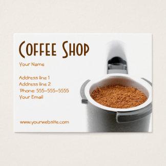 粋な喫茶店の名刺 名刺