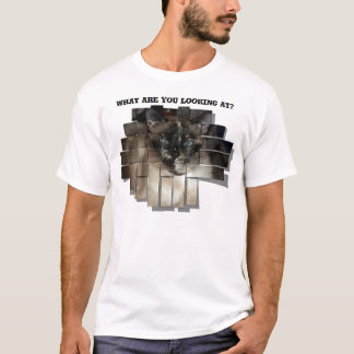 粋な猫のワイシャツ Tシャツ