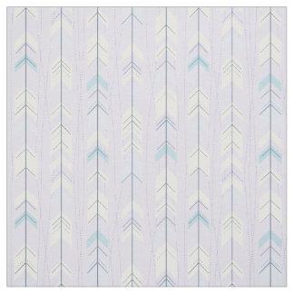 粋な種族の紫色の矢の尾ネイティブアメリカン ファブリック